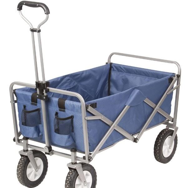 Bagagevagn Bardani - Bagagevagn Bardani Dragvagn, som är riktig bra att ha med på camping eller till stranden, för transport av packning, barn eller varor. Färg: Blå Tyg: Textil Mått: L:84 x B:48 x H: 60 cm. Max belastning: 70 kg